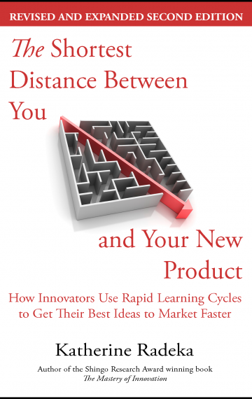 The Shortest Distance Between You and Your New Product